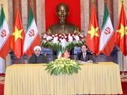 Iranian President winds up Vietnam visit
