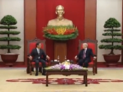 [Video] Party leader meets outgoing Japanese ambassador