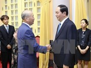 [Video] President welcomes Japanese friendship activist
