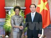 [Video] President welcomes head of La Francophonie
