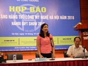 Hanoi Gift Show to kick off this month