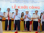Phu Yen builds infrastructure for hi-tech agricultural zone