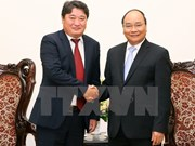 Prime Minister bids farewell to Mongolian ambassador