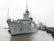 Canadian naval ship visits Ho Chi Minh City