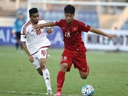 Vietnam tie UAE in U19 event