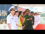 [Video] Canadian naval ship visits Ho Chi Minh City