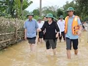 NA leader visits flood victims in Ha Tinh