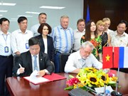 Vietnamese, Russian electricity trade unions forge cooperation