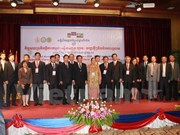 Int'l conference on social sciences in Laos