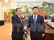 Vietnam treasures ties with China: Politburo member