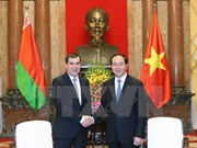 President greets Belarusian State Security Committee Chairman