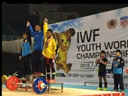 Vietnam wins two golds at weightlifting championship