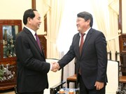 President hosts outgoing Mongolian Ambassador
