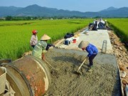 Vinh Phuc to invest over 1.27 trillion VND in developing rural roads