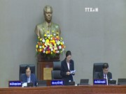 Lao National Assembly convenes second session