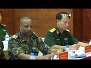 UN training course for peacekeeping forces