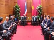 [Video] Gov't leader meets Thai Deputy PM