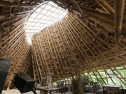 Bamboo building wins American prizes