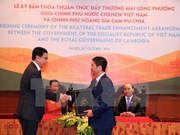 Vietnam, Cambodia agree to boost trade ties