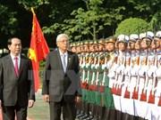 [Video] Myanmar President pays state visit to Vietnam