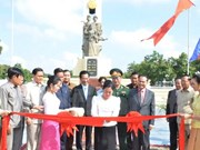 Monument to Vietnamese volunteer soldiers inaugurated in Phnom Penh