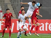 Vietnam lose to Japan at AFC U19 Championship