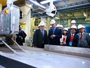 FDI-invested gypsum board plant inaugurated in Hai Phong