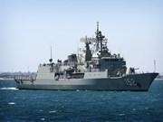 Australian navy ship visits Cam Ranh int'l port