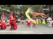 [Video] Folk dance performance in Ho Chi Minh City