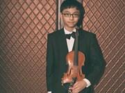 Prodigy Vietnamese violinist takes top prize