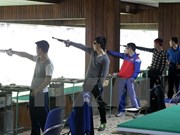 VN's marksmen wins gold medal at SEASA tournament