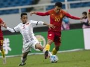 Vietnam U22 team tie goalless with Mexico