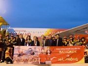 Vietjet inaugurates new route from Hai Phong to Bangkok
