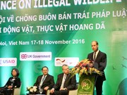 Third International Wildlife Trade Conference opens in Hanoi