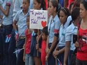 Meeting in memory of Fidel Castro held in Santiago de Cuba