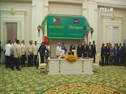 Philippine President visits Cambodia