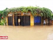 Hoi An ancient town in flood season