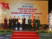President Tran Dai Quang urged the Red River Delta province of Ha Nam