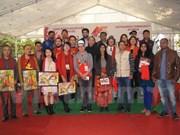 New Delhi exchange camp connects Vietnamese, Indian artists
