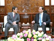 President highlights growing relations with Japan