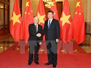 Party leader pays official visit to China