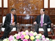 President welcomes India's TATA group top leader