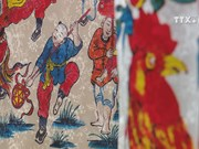 Young artists long for reviving folk paintings