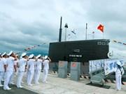 PM attends flag-raising ceremonies on submarines