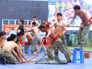 Commandos perform thrilling martial art demonstrations