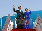 President arrives in Beijing, beginning State visit to China