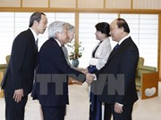 PM meets Japanese Emperor, Empress