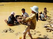 Children at risk of child labour in natural disasters