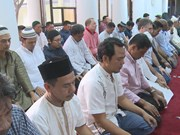 Muslims wrap up Ramadan fast