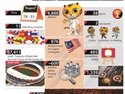SEA Games 29 in figures